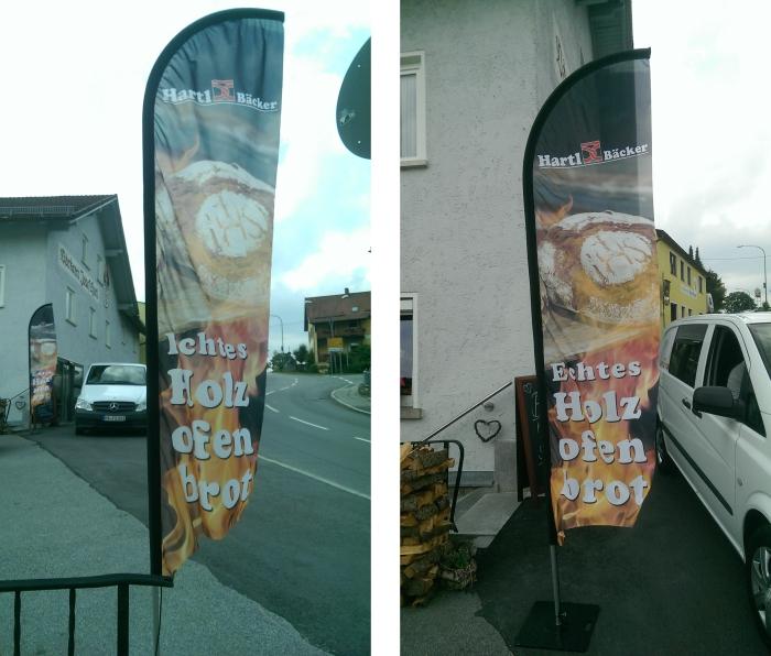 BeachFlags als Werbefahne